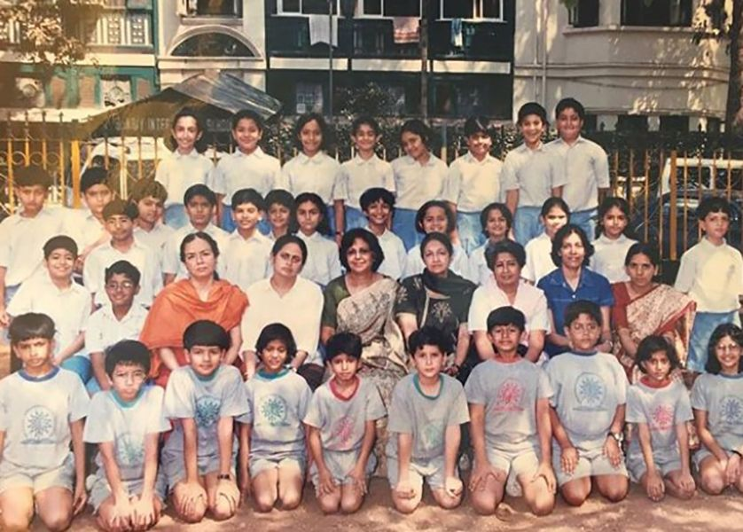 A Picture of Aneesha Shah's School Days