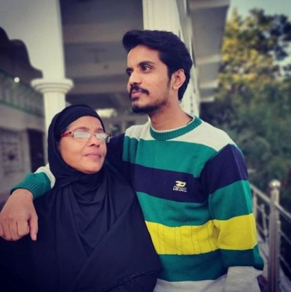 Aasif Khan and His Mother