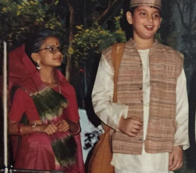 Aneesha Shah's Picture from a School Play