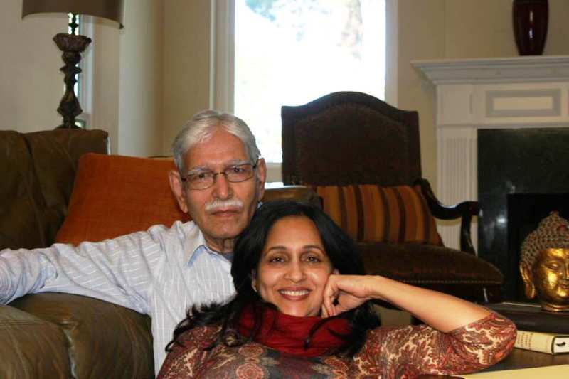 Ashwini Bhave With Her Father