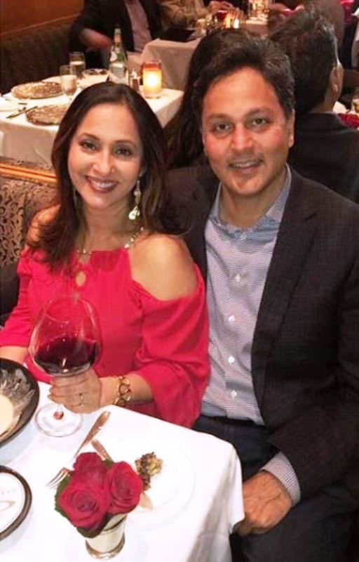 Ashwini Bhave With Her Husband