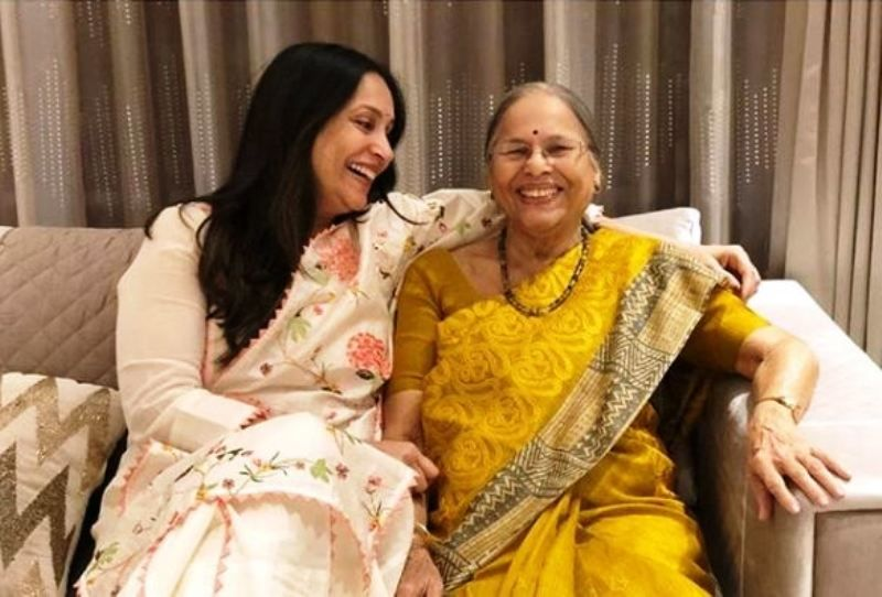 Ashwini Bhave With Her Mother