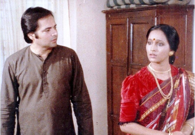 Ashwini Bhave Performing in a Theatre Play