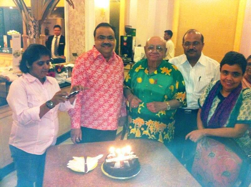 Bejan Daruwalla With His Family