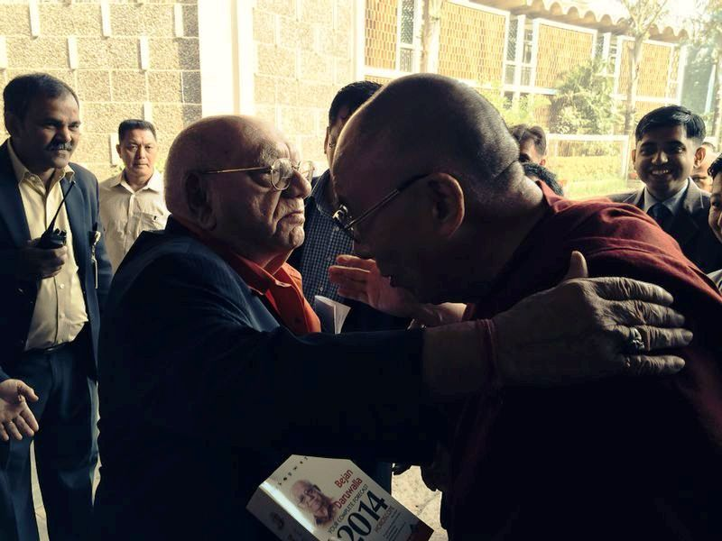 Bejan Daruwalla With the 14th Dalai Lama