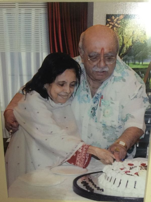 Bejan Daruwalla and His Wife