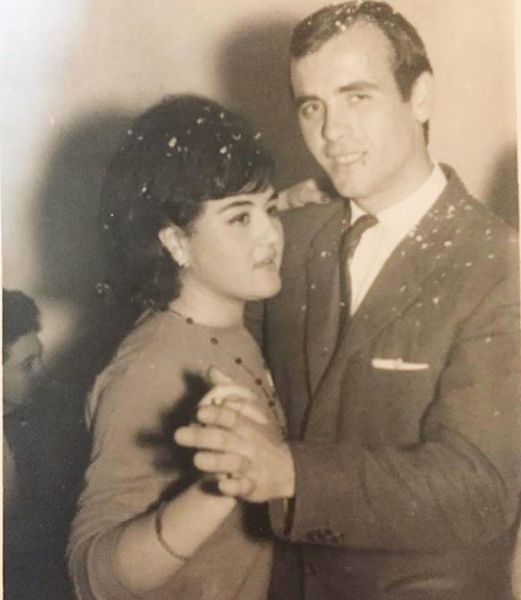 Belén López's Parents