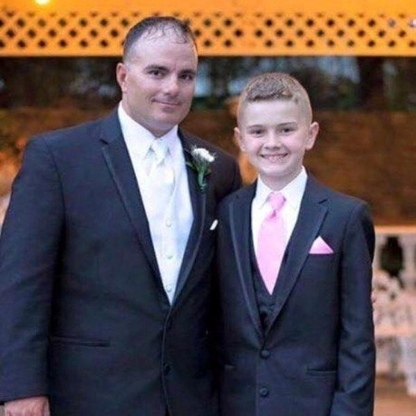Brian Eisch With His Youngest Son Joey