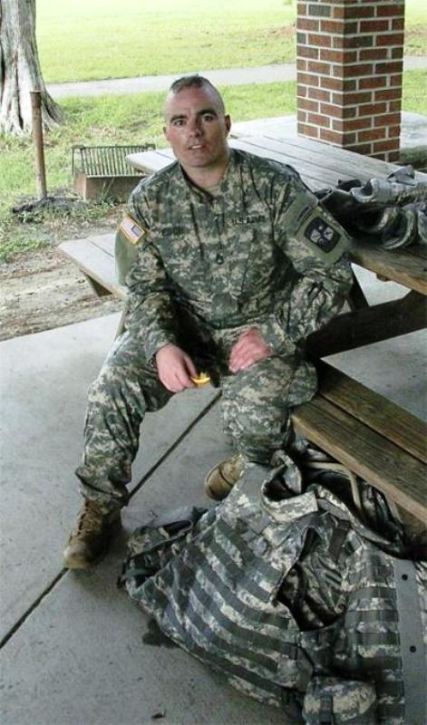 Brian Eisch in the US Army Uniform