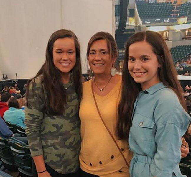 Brooklyn Wittmer with her Mother and Sister