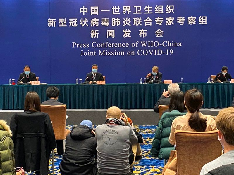 Bruce Aylward at the Press Conference of WHO-China Joint Mission on COVID-19
