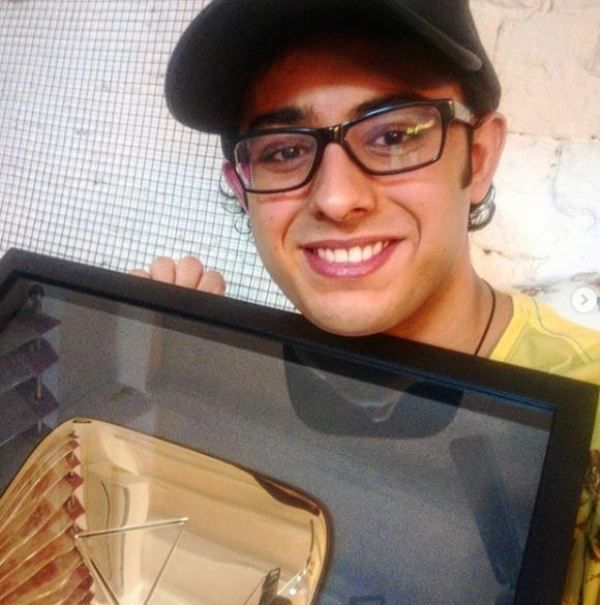 CarryMinati With His Golden Play Button