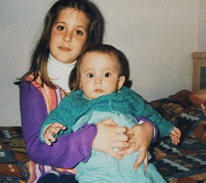Childhood Picture of Guillermo Lasheras with his Sister