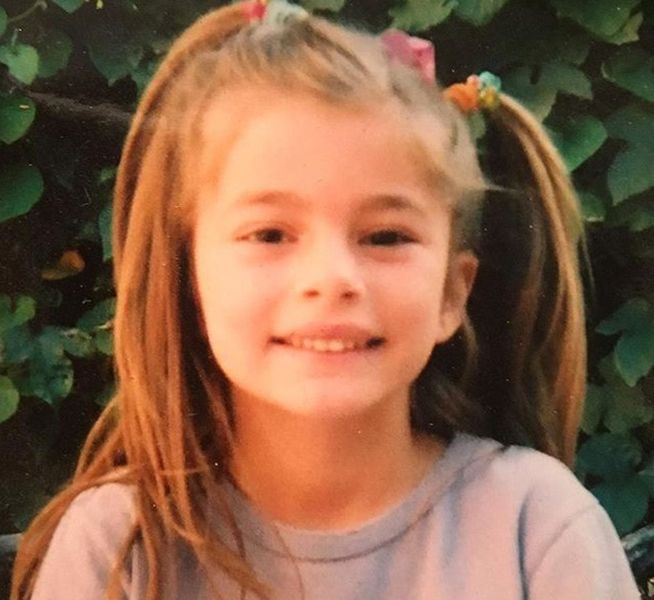Diana Silvers as a Child