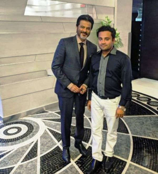 Dr Chandan Agarwal With Anil Kapoor