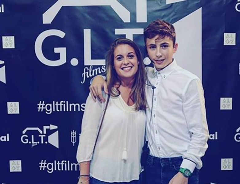 Guillermo Lasheras with his Sister