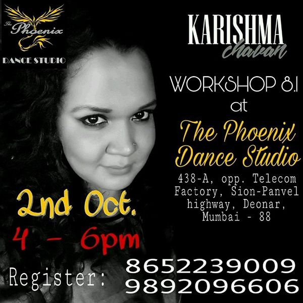 Karishma Chavan Workshop