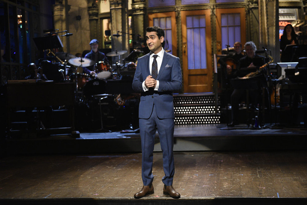 "Kumail Nanjiani in his show ""Saturday Night Live"