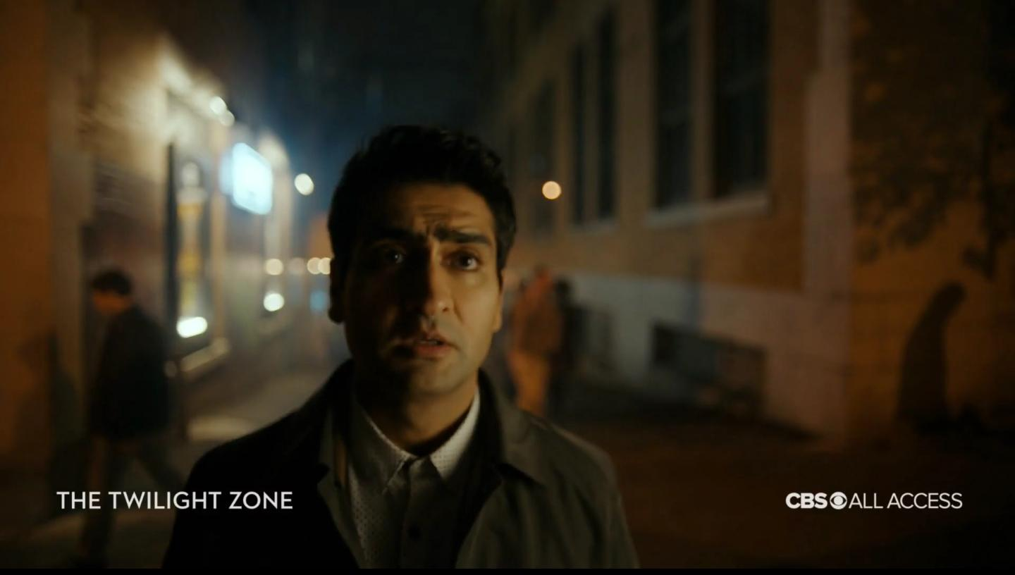 Kumail Nanjiani in his TV show The Twilight Zone