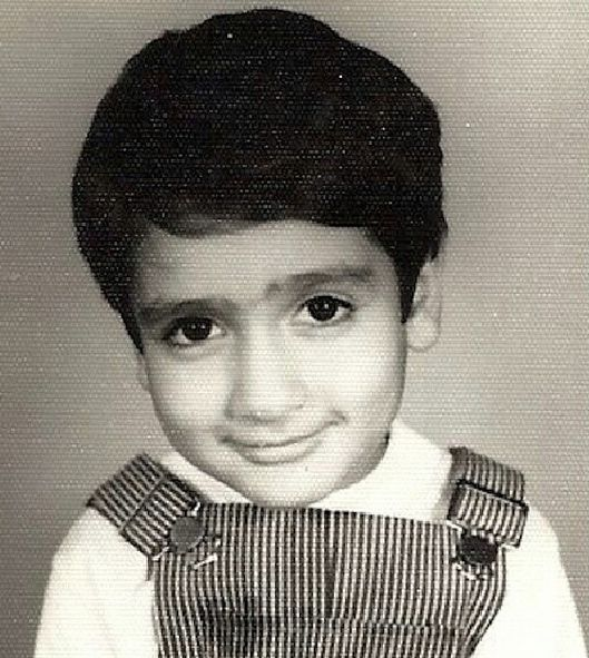 Kumail Nanjiani in his childhood