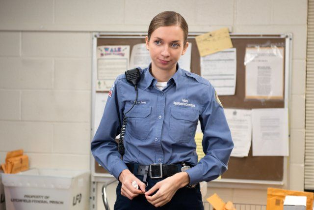 Lauren lapkus in Orange Is the New Black