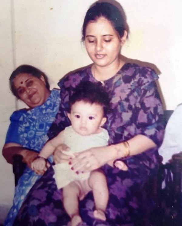 Malvika Sharma's Childhood Picture With Her Mother and Grandmother
