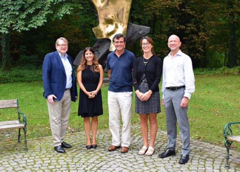 Maria Van Kerkhove (2nd from left) Attending the 2017 Institut Pasteur OMI Seminar in Pandemics