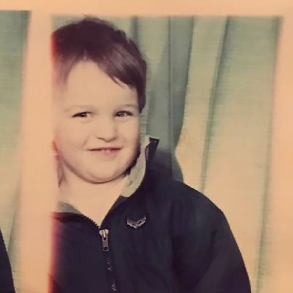 Micah Stock as a Child