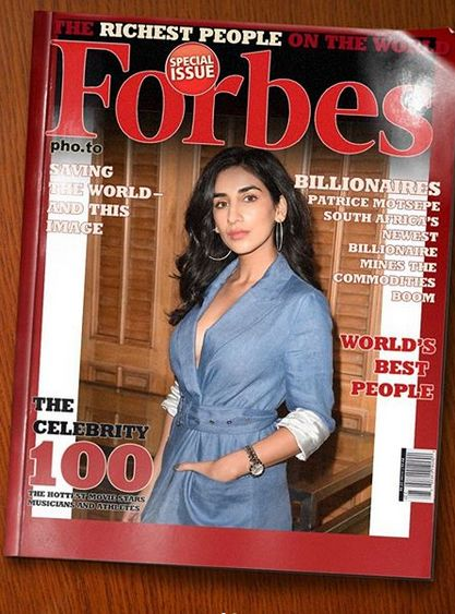 Parul Gulati on the cover of Forbes magazine