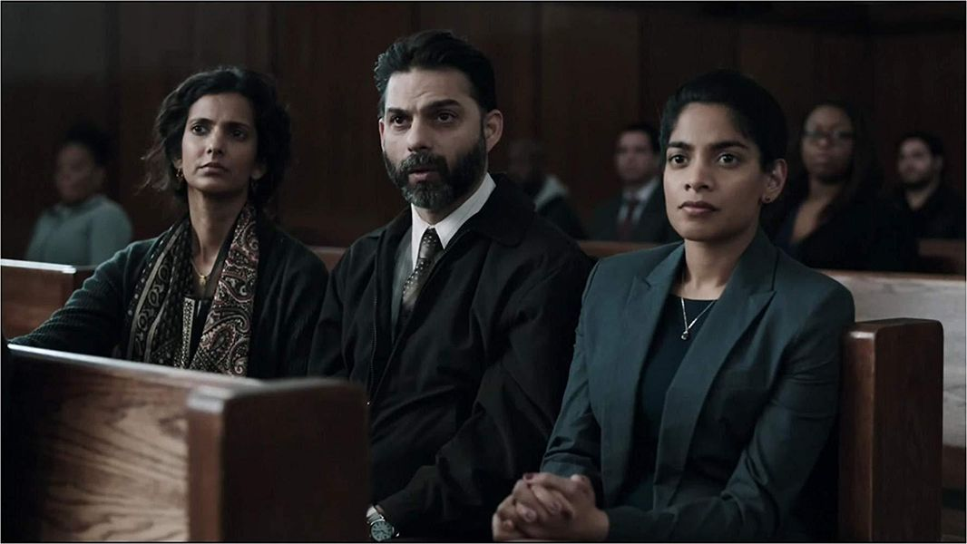 Poorna Jagannathan in a Scene from 'The Night Of' (2016)