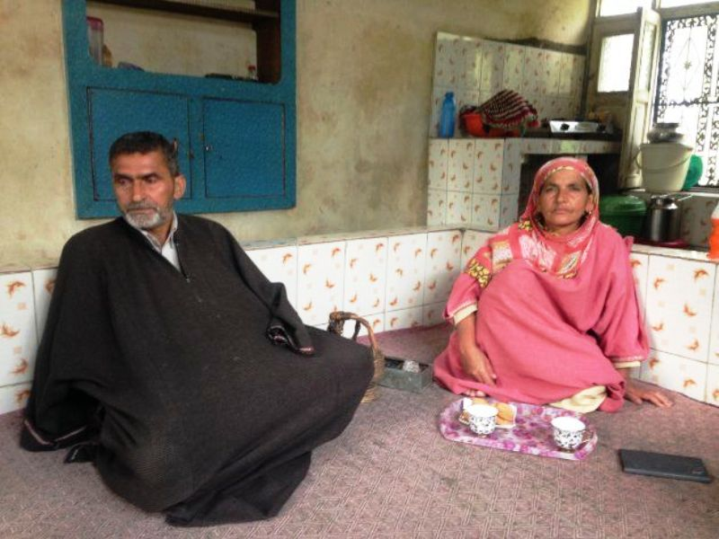 Riyaz Naikoo's Parents Asadullah and Zeba