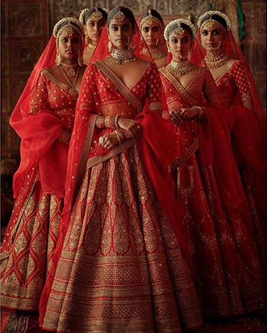 Sabyasachi's Lehenga collection