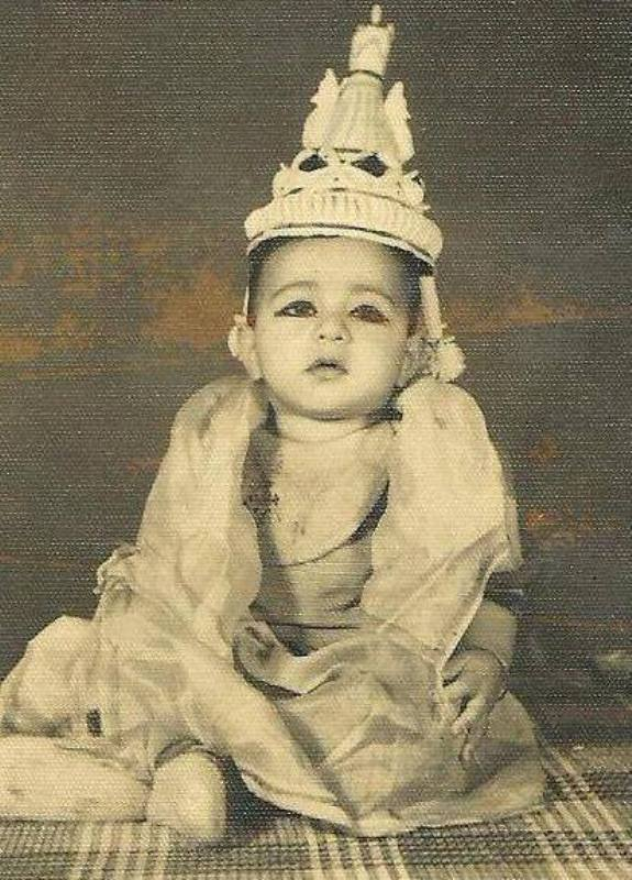 Sarvadaman D Banerjee in Childhood