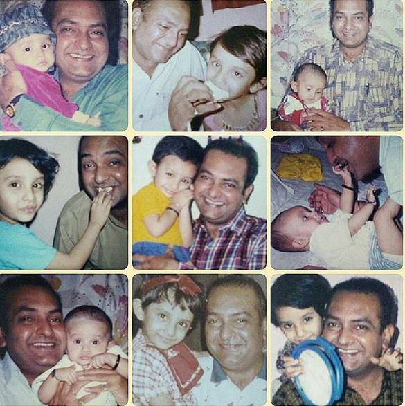 Shahnawaz Pradhan with his daughter