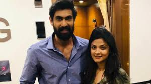 Shreya Jain with Rana Daggubati