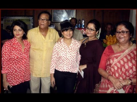 Swastika Mukherjee with her family