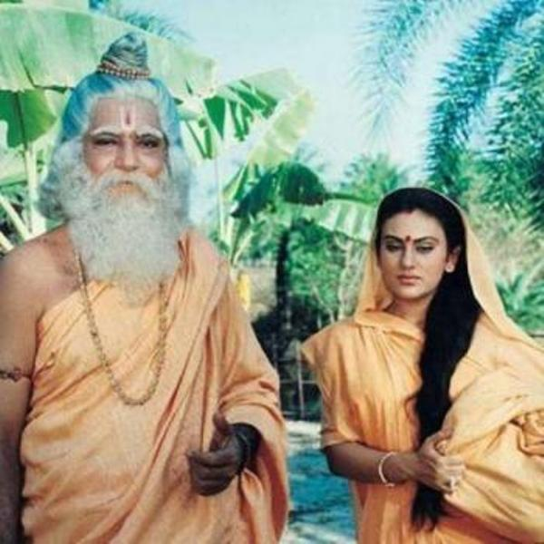 Vijay Kavish as Maharishi Valmiki in Ramayan