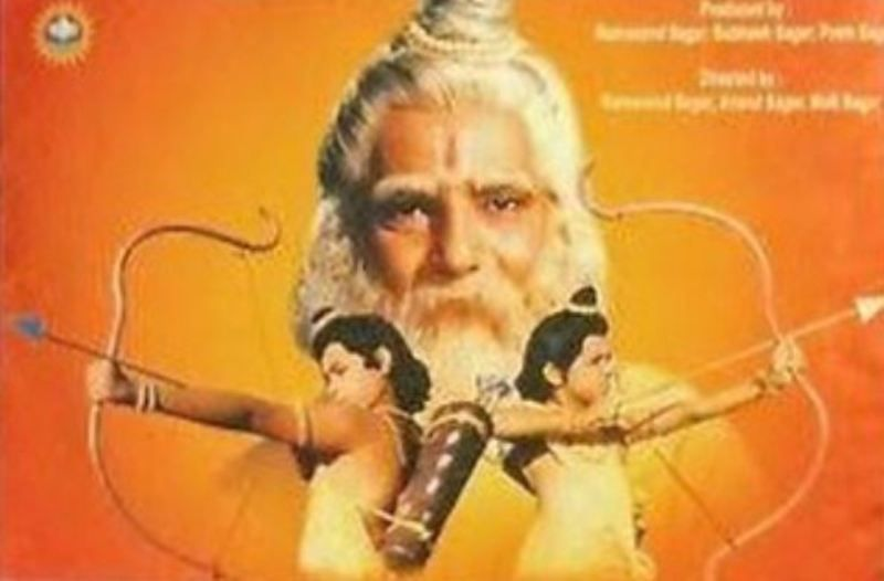 Vijay Kavish as Maharishi Valmiki in Uttar Ramayan