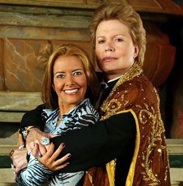 Walter Mercado and Mariette Detotto