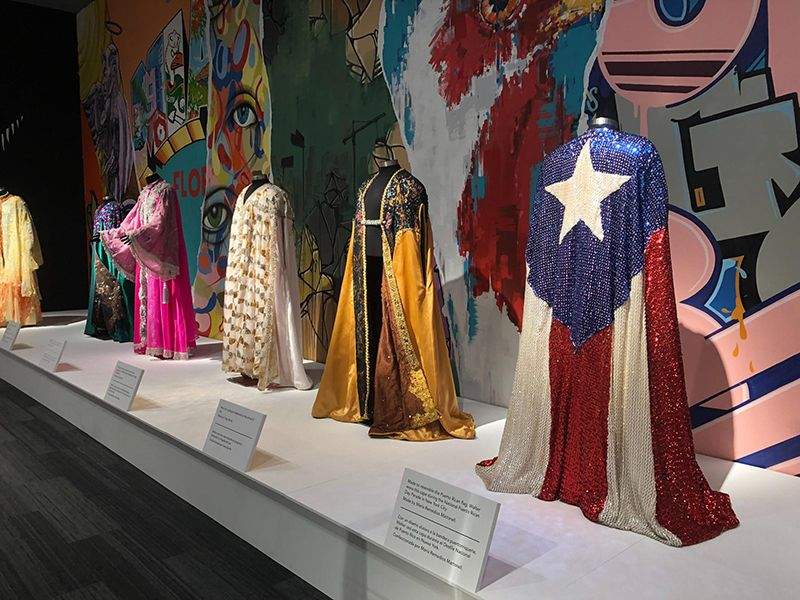 Walter Mercado's Capes at the Exhibition