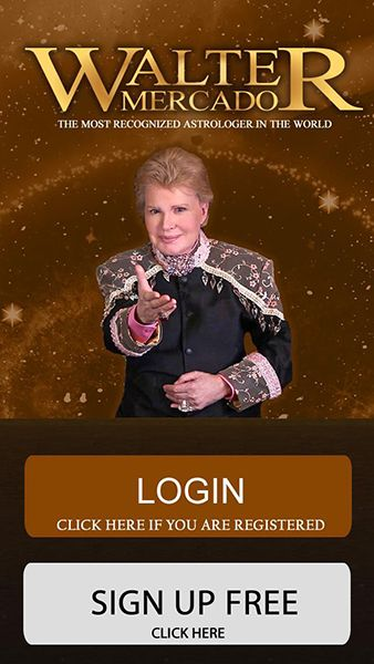 Walter Mercado's Mobile Application's User Interface