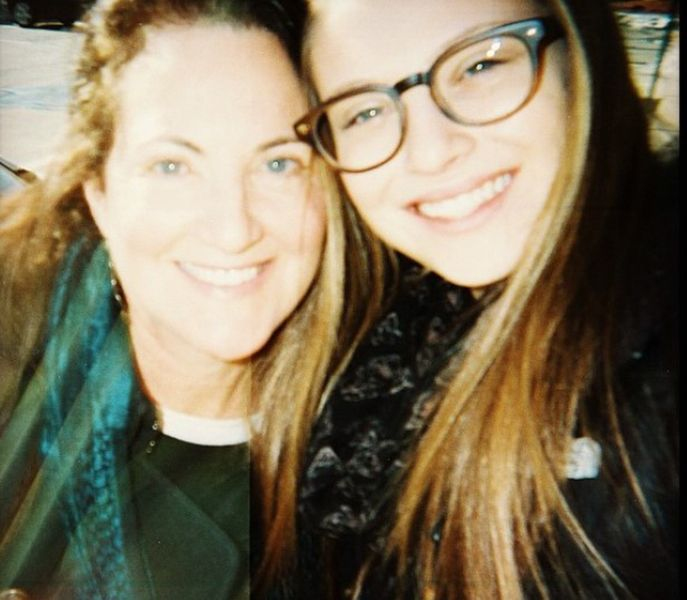 Zoe Levin with her Mother