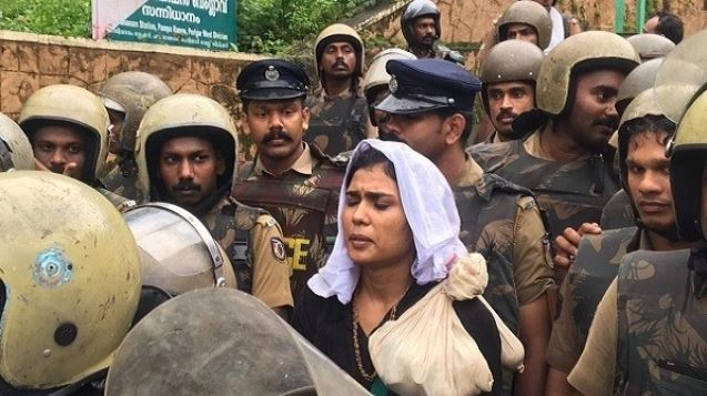 Activist Fathima walks out of Sabrimala