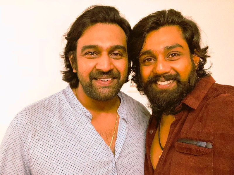 Chiranjeevi Sarja With His Brother