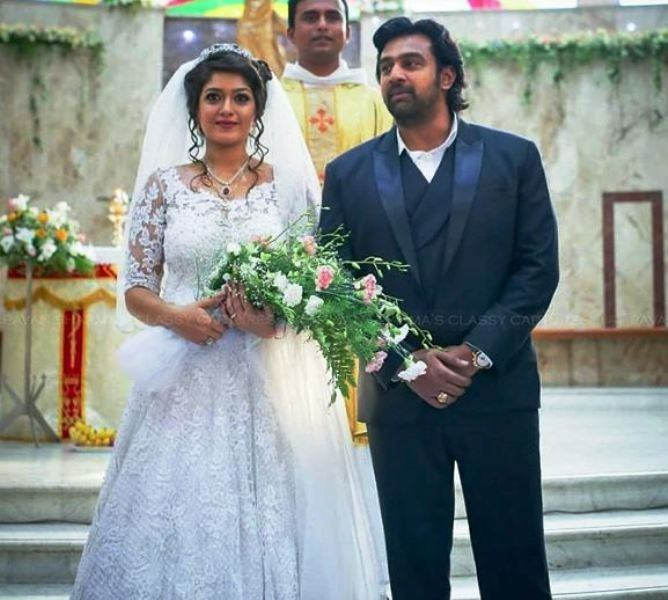 Chiranjeevi Sarja and Meghana Raj's Wedding Picture