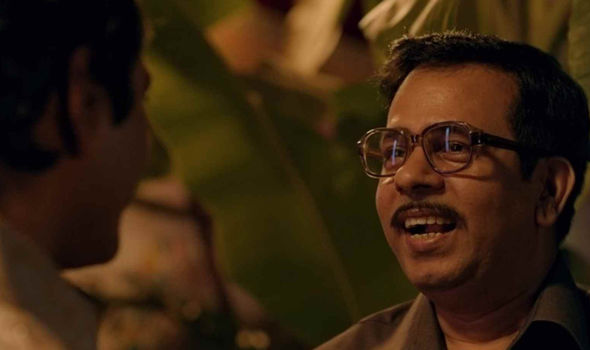 Chittaranjan Tripathy as Trivedi in Sacred Games