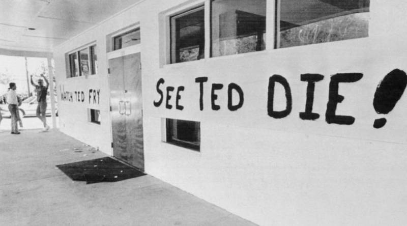 FSU's Chi Phi fraternity celebrates the execution of Ted Bundy