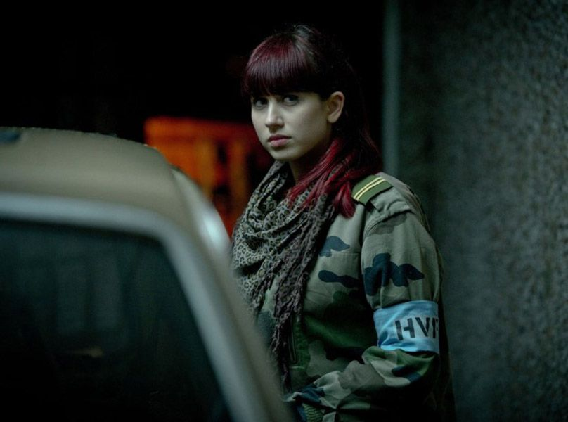 Harriet Cains in a Scene from 'In the Flesh'