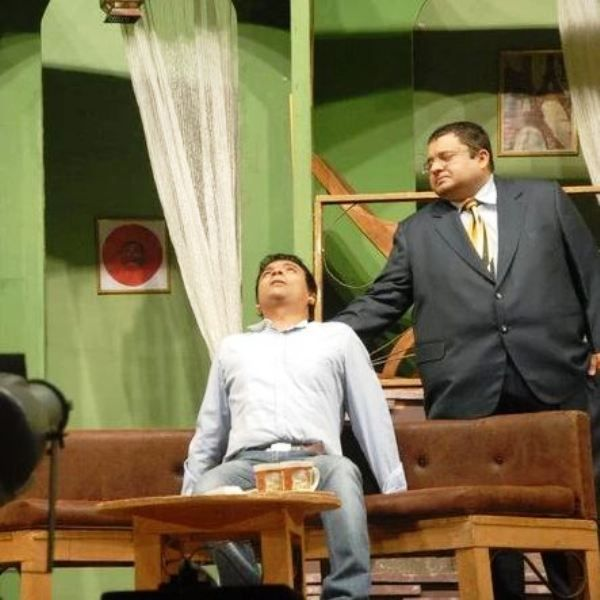 Jagesh Mukatia in a Theatre Play
