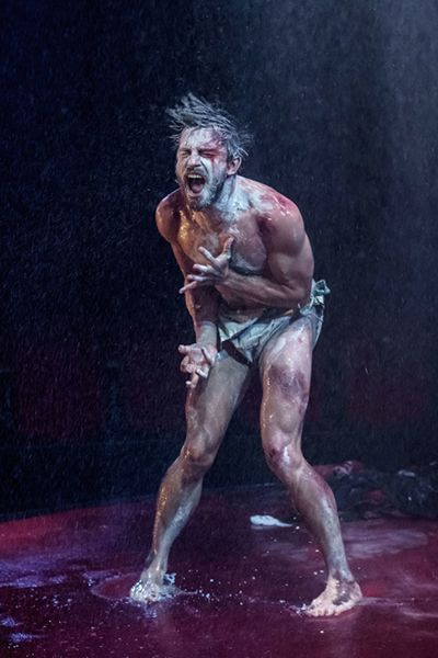 Jonathan Bailey in a scene from King Lear